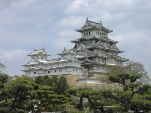 Himeji Castle, photo by tiseb on Flickr