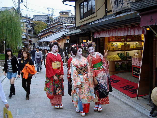 Gion, the famous geisha district of Kyoto  Japan Travel ...