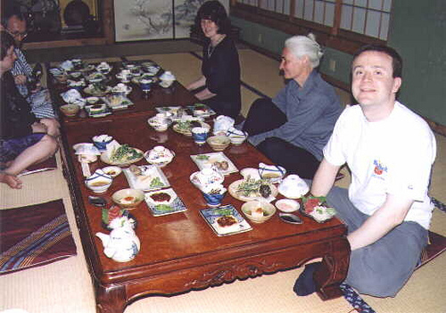 Traditional Dinner in Japan