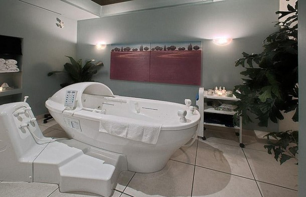 Hydratherapy room