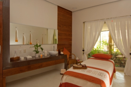 spa hotel room
